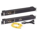 "Sensor Hub 19"" rack mount,  AlertWerks 4-/8-port"