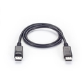 DisplayPort Cable 4K 60Hz version 1.2, Male/Male with Latches