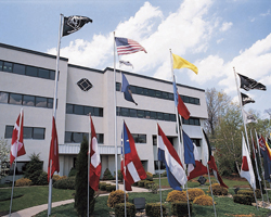 Black Box Network Services Headquarter in scenic Lawrence, Pennsylvania, 20 miles south of Pittsburgh