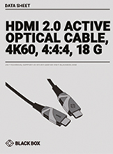 Data sheet AOC - HDMI