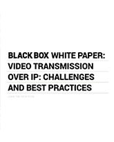 White paper Best Practices AV over IP