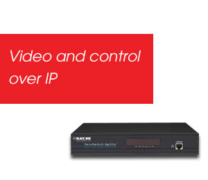 Video and control over IP